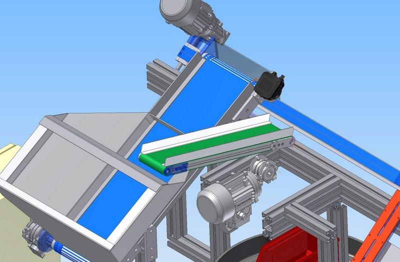 Yapay görme sistem - Metal pullar için