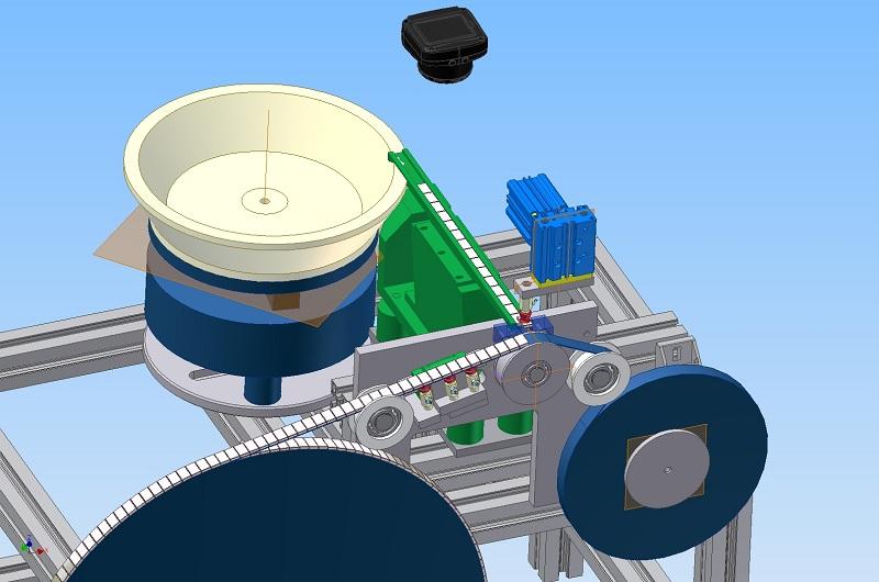 Yapay görme - Otomotiv endüstrisi için balans ağırlıklarını makine