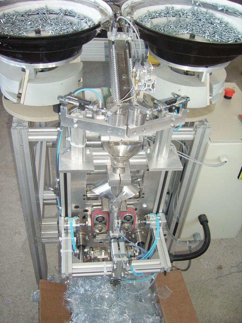 Verpackungsmaschine für Schrauben