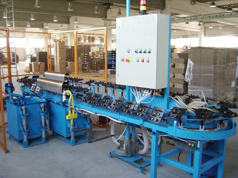 Special Plastic coating machine for springs