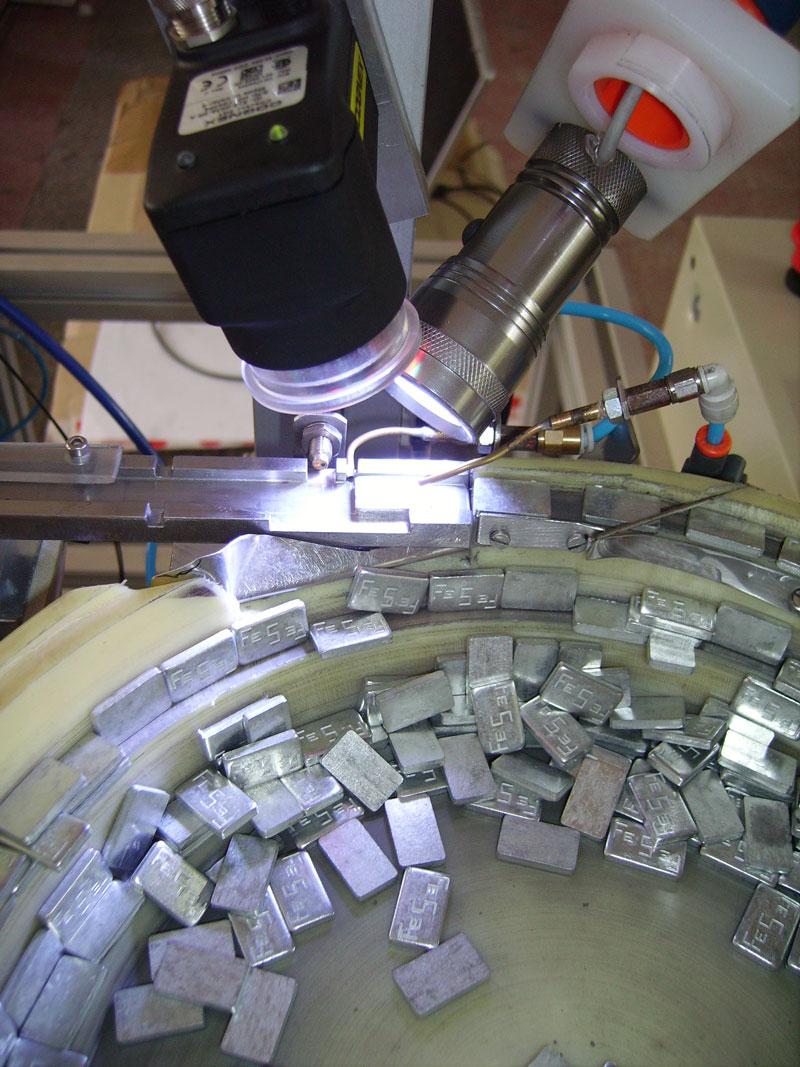 Yapay görme - Otomotiv endüstrisi için balans ağırlıklarını