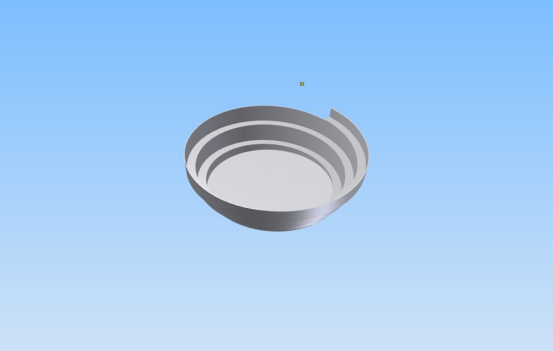 Bowl for vibratory bowl feeders