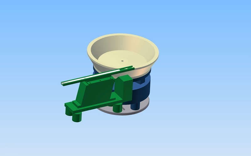 Vibratory Bowl feeder for balance weights