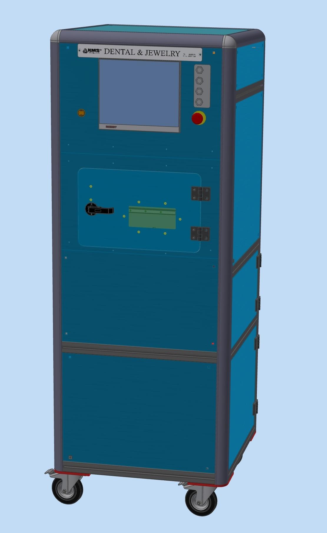 3D принтер за метал - 3D модел